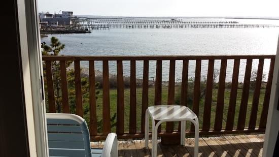 Waterside Inn: view from room 308