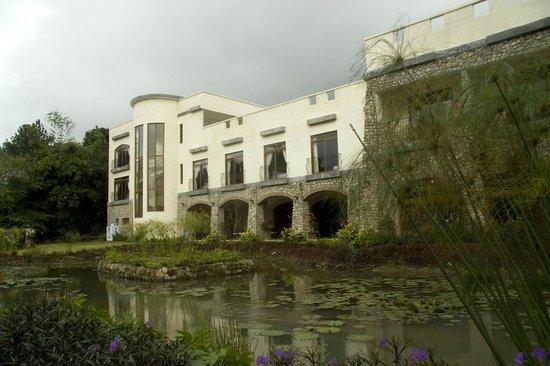 Hotel Residencial El Valle: Aanzicht van kamer vanaf tuinzijde