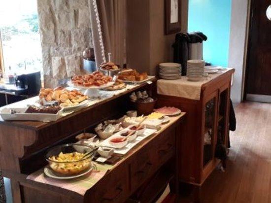 Lirolay Suites : Desayuno
