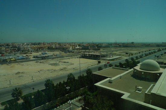 Mövenpick Hotel Al Khobar: Aussicht aus dem 4. Stock