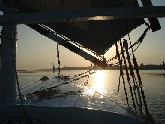 Jolie Ville Hotel & Spa - Kings Island, Luxor : Sailing the Nile again, you can do it many times!