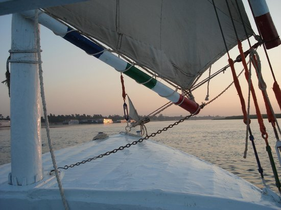 Jolie Ville Hotel & Spa - Kings Island, Luxor : Sailing the Nile, again!