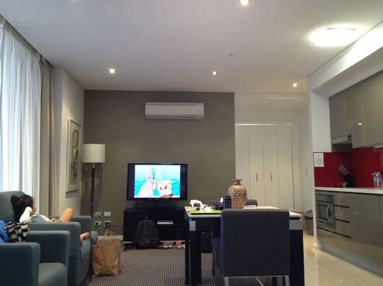 Meriton Serviced Apartments Campbell Street: Suite