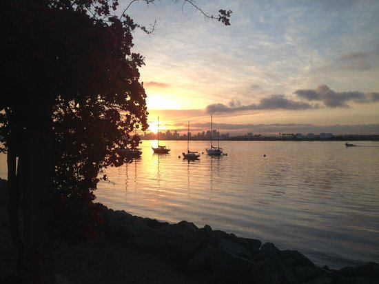 Best Western Plus Island Palms Hotel & Marina: Sunrise - Shelter Island