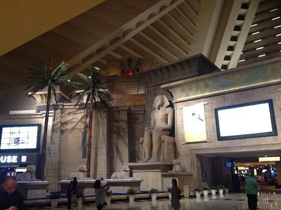 Luxor Las Vegas: indoors