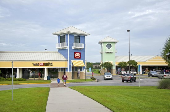 Tanger Outlets in Foley is located near the beach and has over brand name manufacturers and designer outlet stores, a food court and center-wide events year round. Along with great shopping choices, visitors can get money-saving coupons for select outlet stores.