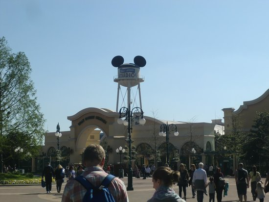 Walt Disney Studios: Eingang
