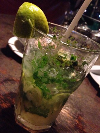 Bizarro Tapas, Bar & Restaurant: Virgin mojito! 60 baht. Tasted like the 360 baht in fancy hotels!