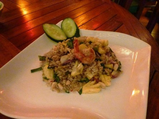Warung Asia Thai Food: pineapple fried rice