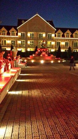Gardaland Hotel : Il parco dell'hotel