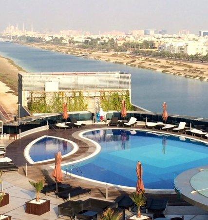 Novotel Abu Dhabi Gate: Вид из номера