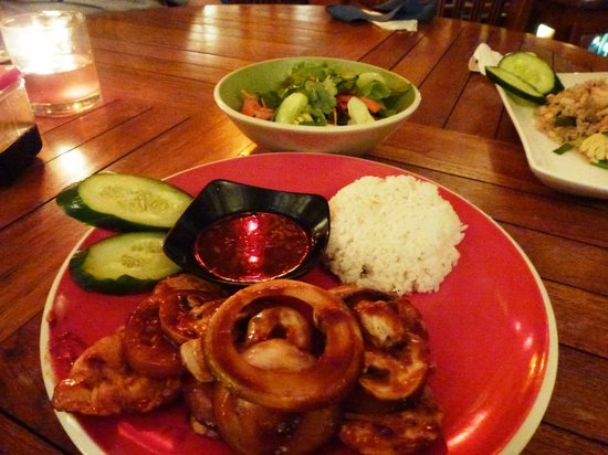 "Warung Asia Thai Food: ""bbq chicken"""