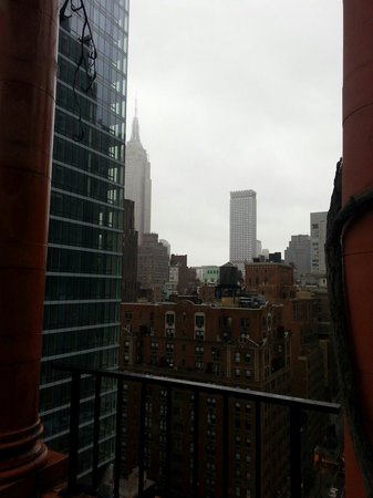 Pod 39 Hotel: Rooftop views