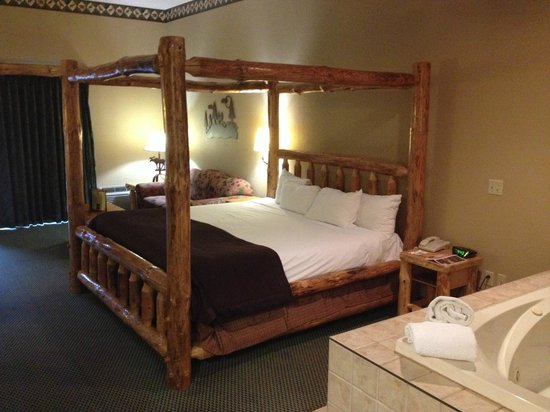 Great Wolf Lodge : Il letto king size