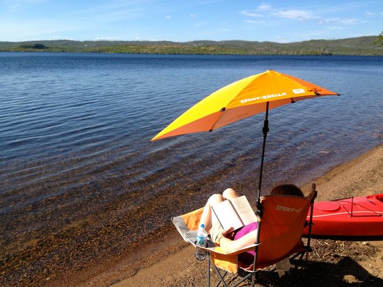 Heston's Lodge : bring your favorite camp chair. perfect view.