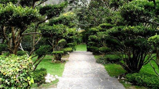 Urban Adventures Quito: Parque de Guápulo - acceso a la Casa-Hacienda