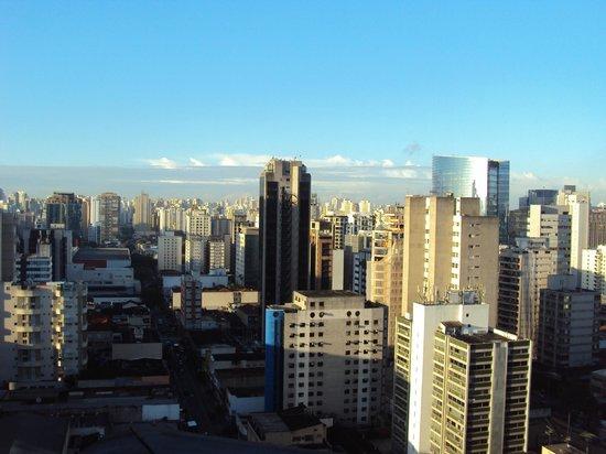 Tryp Iguatemi: vista do apartamento