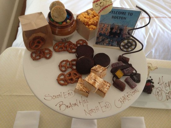 Four Seasons Hotel Boston: Sent by staff for my son!!! Delicious! Thank you !