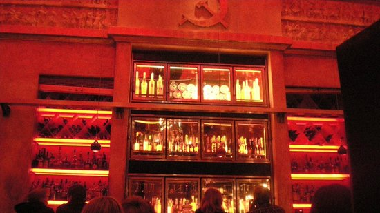 Red Square: Red Hued Bar