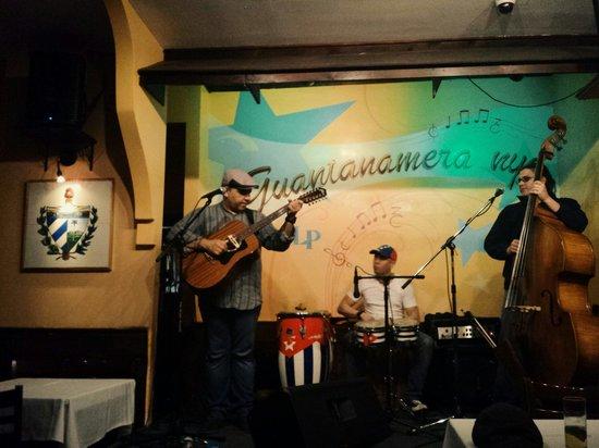 Great Cuban music at Guantanamera NYC