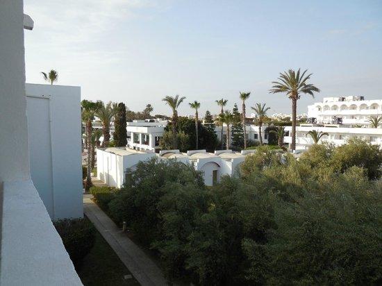 Thalassa Sousse Resort & Aquapark : zicht op de tuin