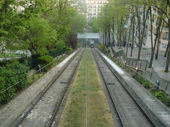 Basilique du Sacré-Cœur de Montmartre : Zahnradbahn