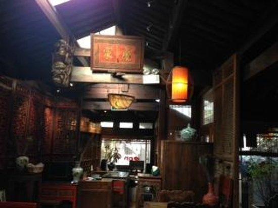 Zen Garden Hotel (Wuyi Yard): Inside of Zen Garden Inn