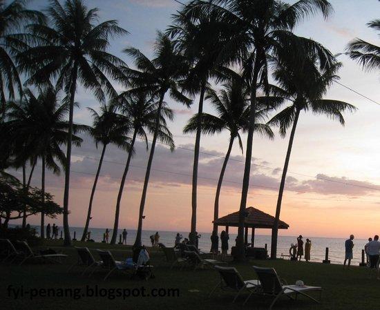 Shangri-La's Tanjung Aru Resort & Spa : Sun Set