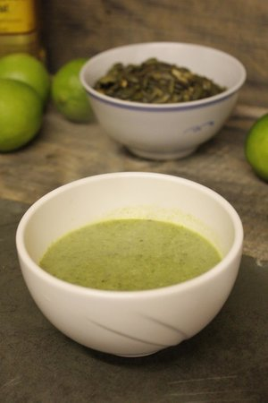 Cafe Revival: Wild Garlic Soup - TexMex 5 Course Taster Menu