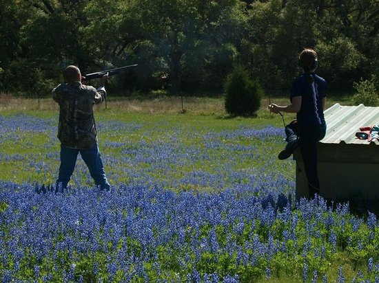 BlissWood Bed and Breakfast Ranch: Trap shooting was great!