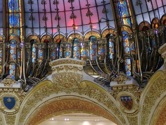 Galeries Lafayette: Kuppel
