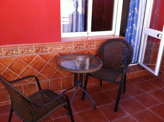 Hotel Don Pedro: lovely terrace