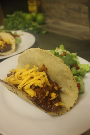 Cafe Revival: Beef Taco - TexMex 5 Course Taster Menu