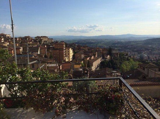 Mini Resort Fontana Maggiore: View from terrace