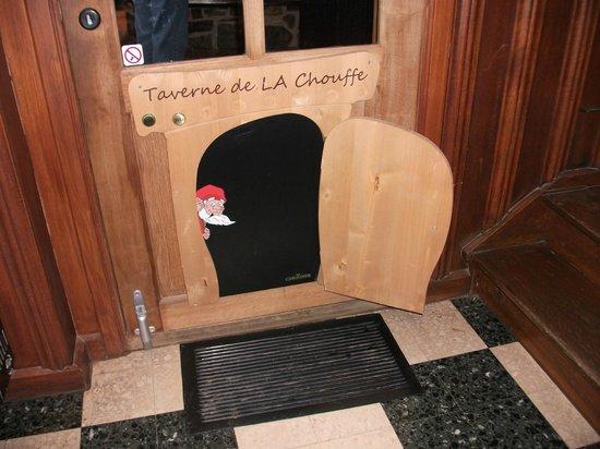 Brasserie d'Achouffe: privé ingag voor de kabouters in het restaurant/café!