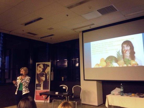 Ramada Oradea: During the presentation