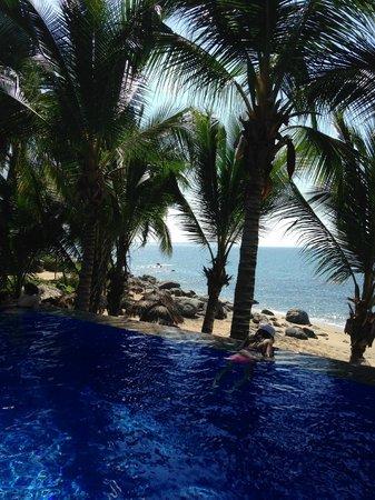 Playa Escondida: View from pool