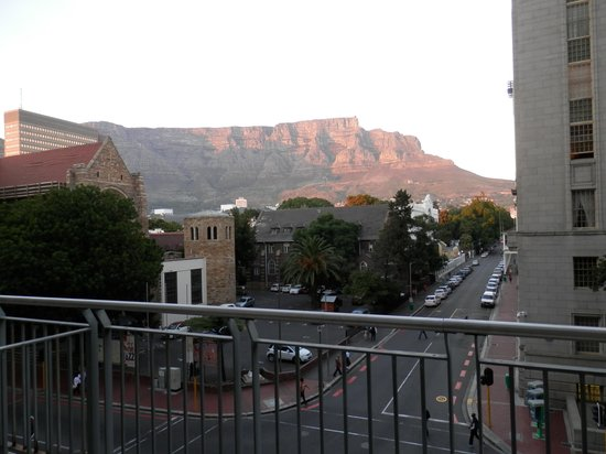 Mandela Rhodes Place Hotel : View from the balcony