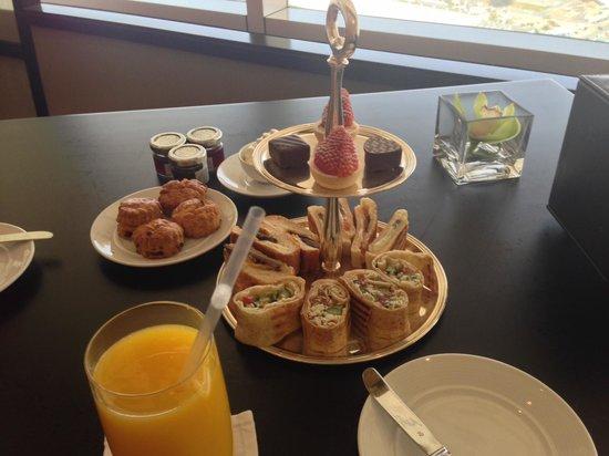 Fairmont Dubai: Fairmont Gold afternoon tea