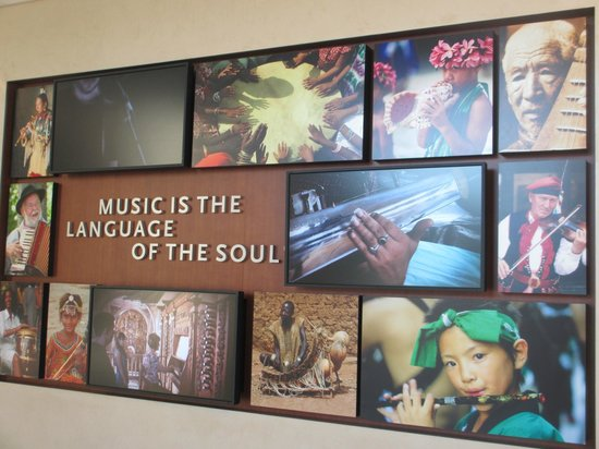 Musical Instrument Museum: Music is the language of the soul