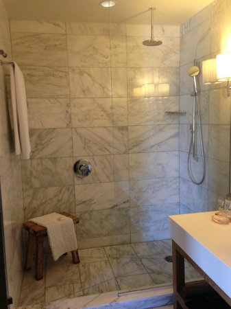 Andaz Napa: Fantastic bathroom