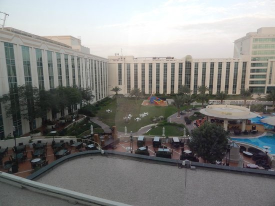 Millennium Airport Hotel Dubai: View from my room