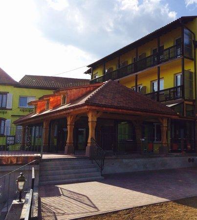Relais du Klevener : La veranda