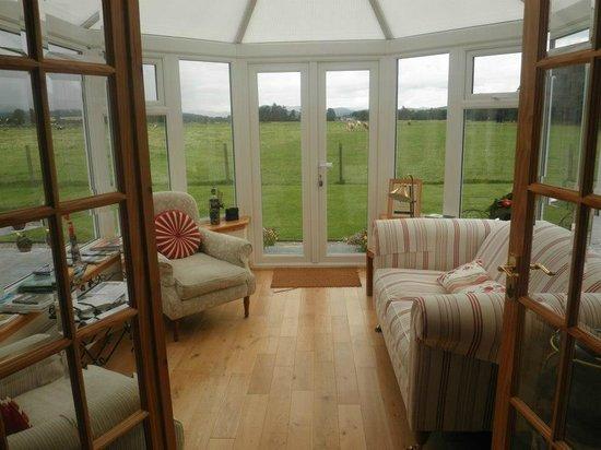 Bellissima veranda del Carndaisy House