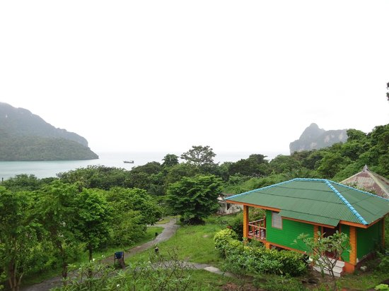 Phi Phi ViewPoint Resort: Vue d'un bungalow