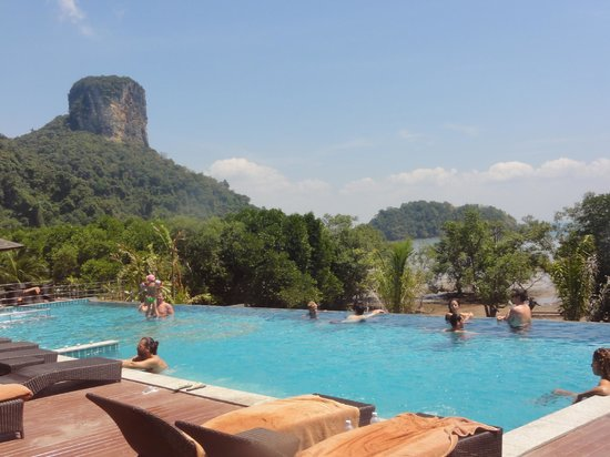 Railay Princess Resort and Spa: vista desde la pileta superior