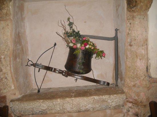 Antico Monastero: Particolare di un'angolo del ristorante.