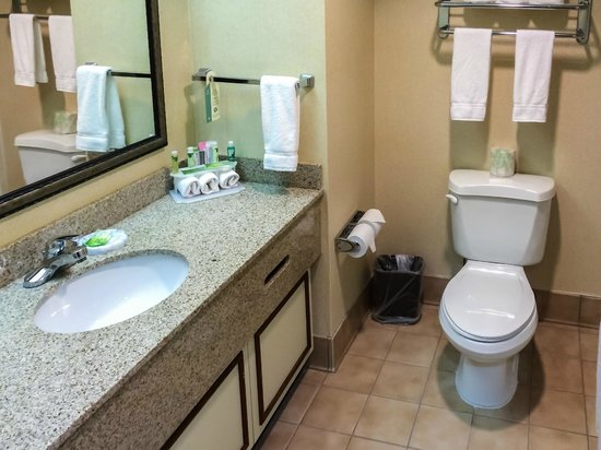 Holiday Inn Express Conover (Hickory Area) : Large, Clean Bathroom