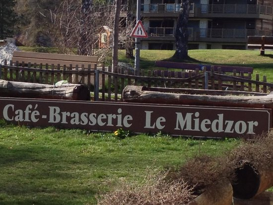 Le Miedzor : Quiet and relaxing place overlooking the golf course and mountains