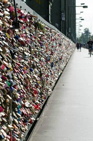 Locks of Love Hohenzollern Bridge.